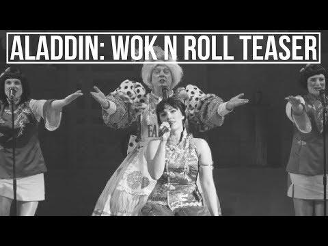 Teaser - Aladdin: Wok n' Roll Panto - Theatr Clwyd