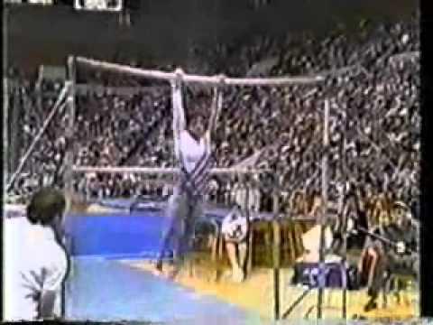 mary lou retton 1985 american cup uneven bars