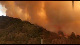 אש שריפה שריפות קליפורניה ארצות הברית