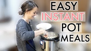 4 EXTREMELY EASY & AFFORDABLE INSTANT POT MEALS // SIMPLY ALLIE