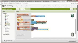 Create a List and initialize global variables in AppInventor