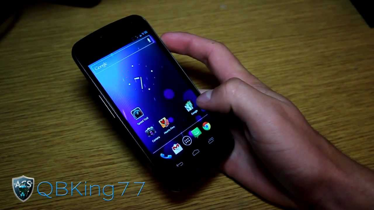 How to Install a Radio on the Sprint Galaxy Nexus 4G LTE