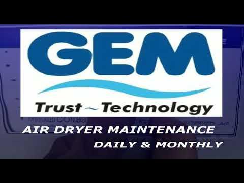 Air Dryer Maintenance