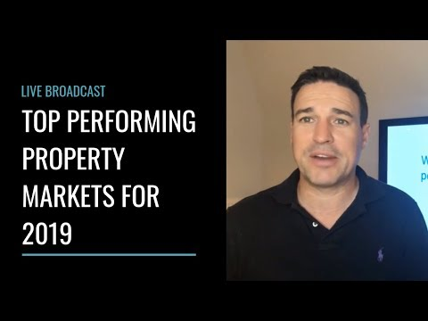 Top Performing Property Markets for 2019