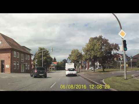 New #video - Die Straßen #Germany aus einem Autofenster - Gut Görtz nach Kiel #video # footage