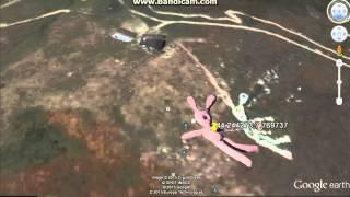 conejo gigante de google earth coordenadas: 44.244273,7.769737 Free HD Video