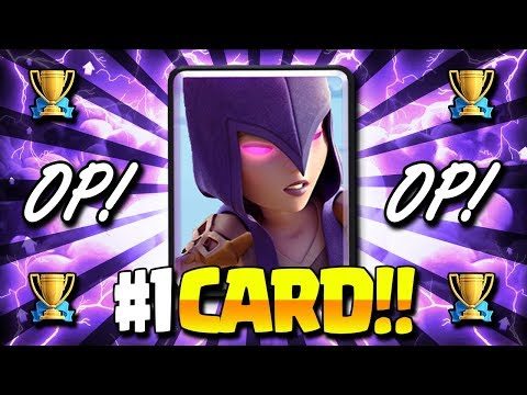 NEW WITCH IS BROKEN!! #1 STRONGEST CARD AFTER UPDATE!! - Clash Royale