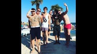 Юра,тормози! Группа Mband. отдых в Одессе с друзьми.