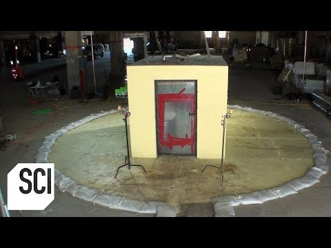 Breaking Out Of Jail With A Distributed Load Of Antacid | MythBusters