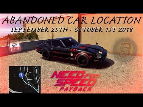nfs payback abandoned car