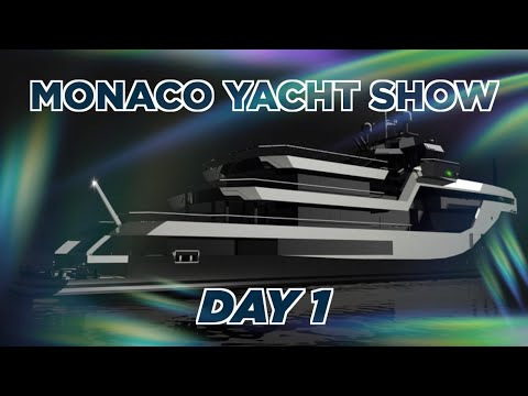 MONACO YACHT SHOW DAY 1 - ICON'S AMAZING PROJECT MASTER AND A CHAT WITH THE LEGENDARY ESPEN OEINO