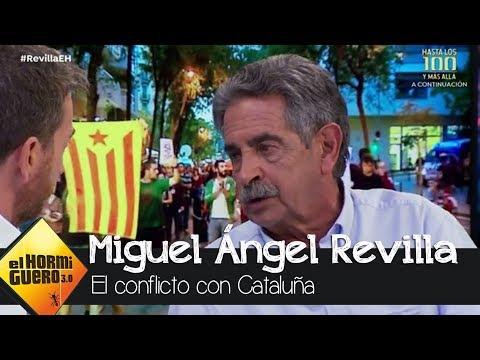 Miguel Ángel Revilla habla sobre Cataluña - El Hormiguero 3.0