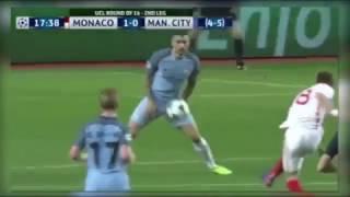 monaco vs man city all goals and highlight 3 1