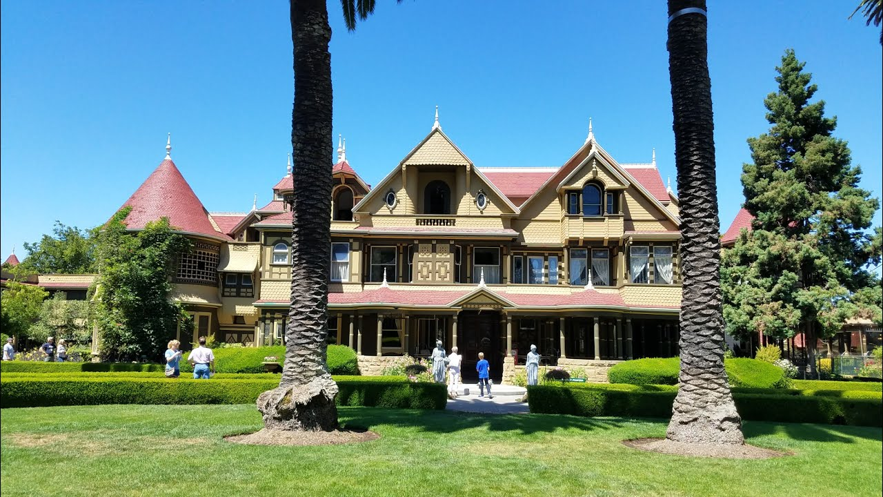 winchester mystery house and abandoned movie theater youtube
