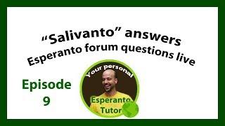 Duolingo Esperanto live Q and A Ep9 (Edited Version)