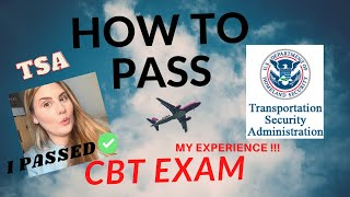 HOW TO PASS THE CBT EXAM