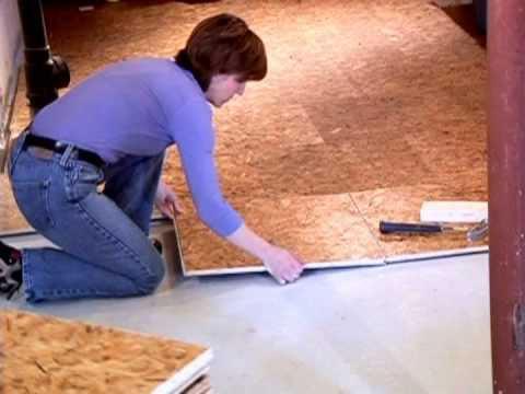 dricore subfloor installation video youtube