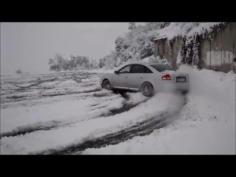 Audi A6 2.7 T quattro (230 Hp) On Snow