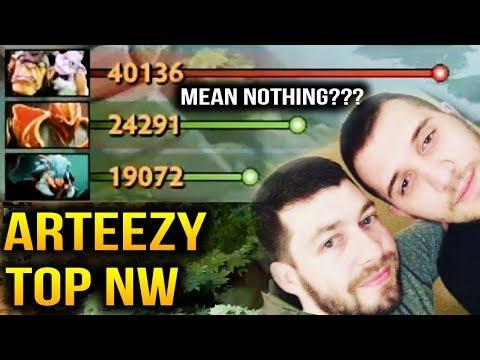 Arteezy [Alche] VS CCnC [DK] Fear [Weaver] - Double Networth Mean Nothing Dota 2