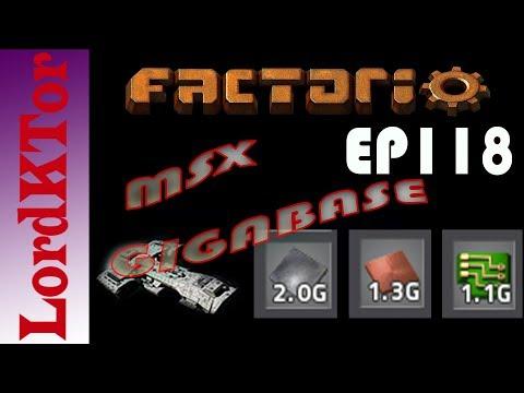 Factorio 0.16 MSX Gigabase EP118: Iron Smelter 3 ore issues