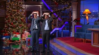 Jonathan Groff Teaches Stephen His King George Walk