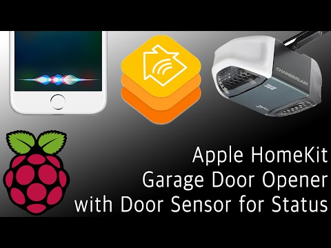 TUTORIAL: Siri/HomeKit Garage Opener with Raspberry Pi (NEW)