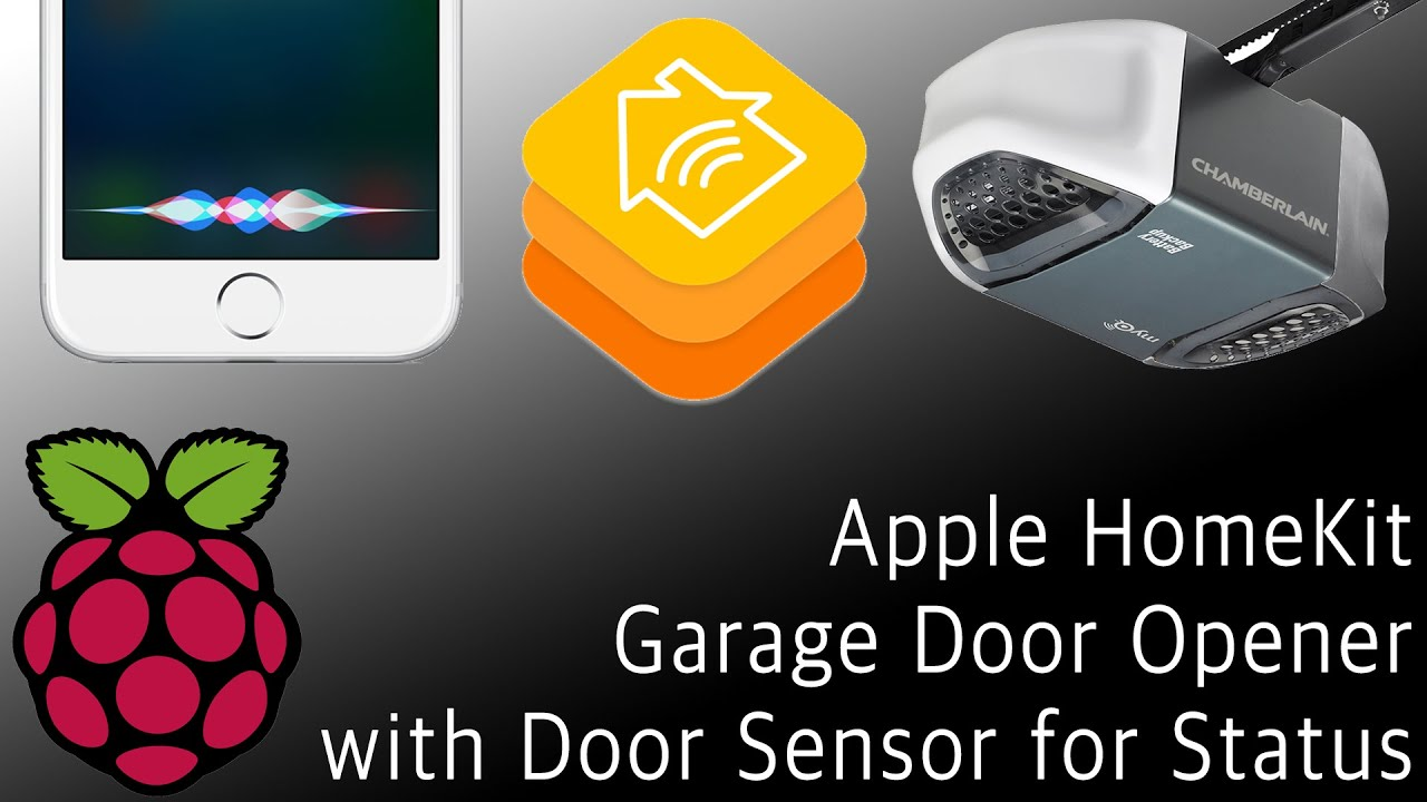 Tutorial Siri Homekit Garage Opener With Raspberry Pi