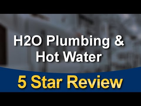 H2O Plumbing & Hot Water Plano  Outstanding  5 Star Review by michelle Garcia