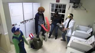Harlem Shake Laundry Room Edition
