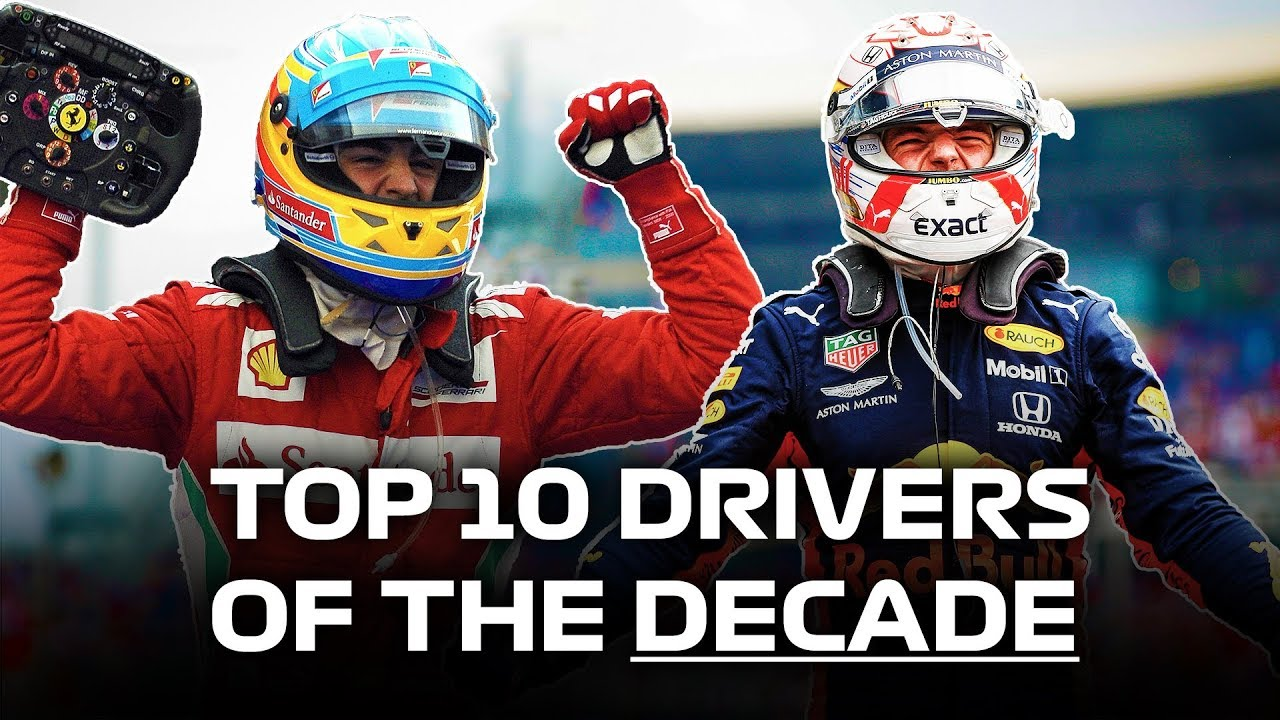 Top 10 GREATEST Formula 1 Drivers of the Decade