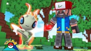 MY FIRST LEGENDARY -- CELEBI!! [#17] | Minecraft: Pokémon Trinity [Pixelmon]