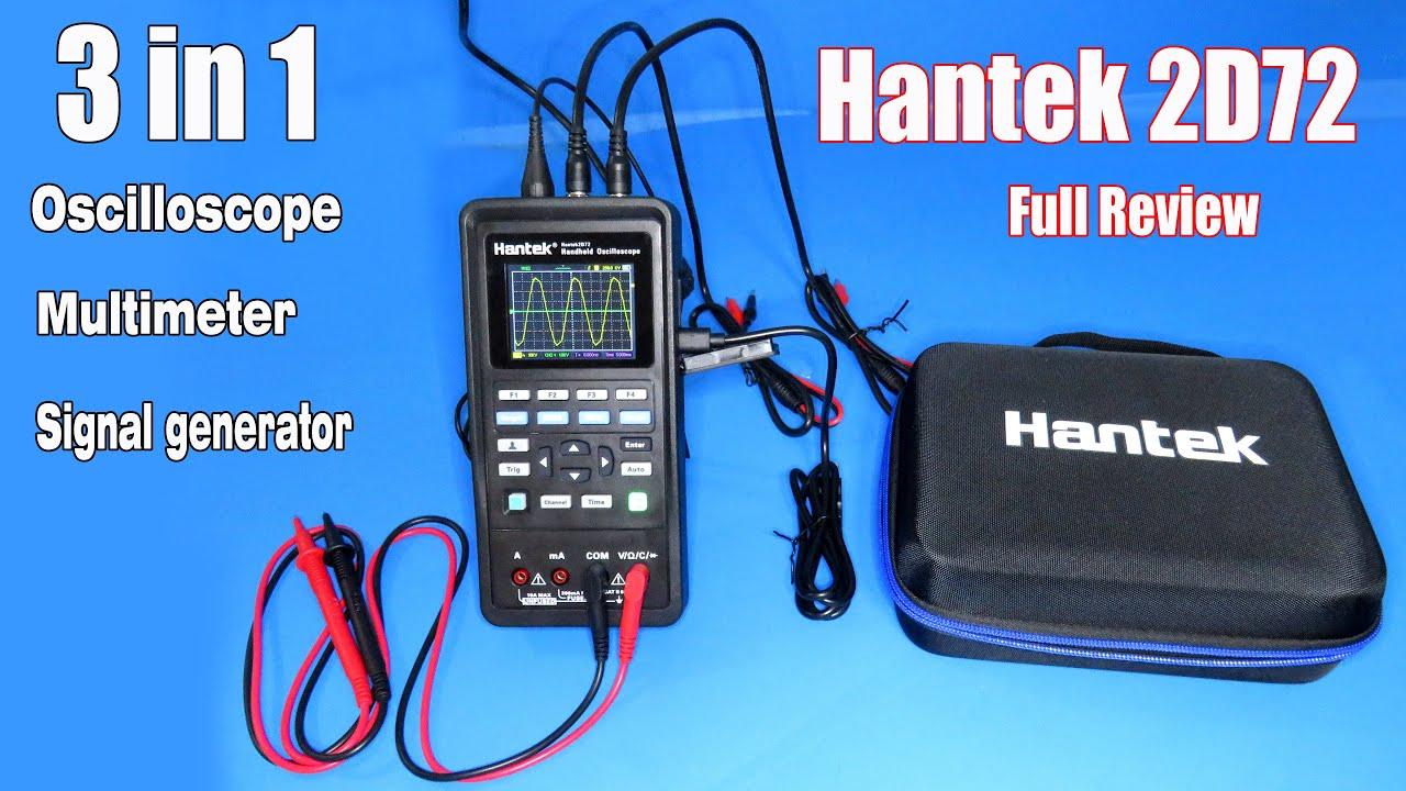 Review 3 in 1 oscilloscope + Multimeter + Signal generator