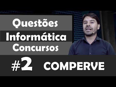 COMPERVE   Questões De Informática Para Concursos #2