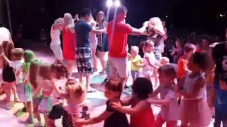 �������� ���� Мини диско в Akka Alinda 2016 год Турция. ������