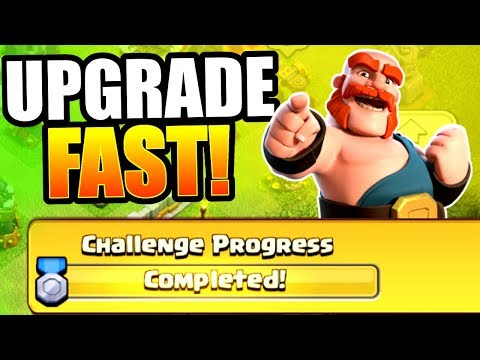 FASTEST WAY TO UPGRADE TO MAX!! - Clash Of Clans