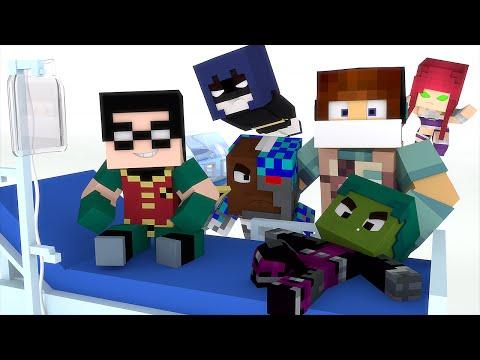 Minecraft: JOVENS TITÃS PRECISAM DE AJUDA !! - (Cirurgia Minecraft )