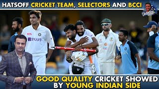 Hats off Cricket team, Selectors and BCCI | Good quality cricket showed by Young Indian side