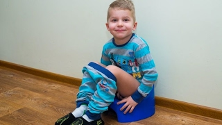 (100% Effective) How to Potty Train a Boy!
