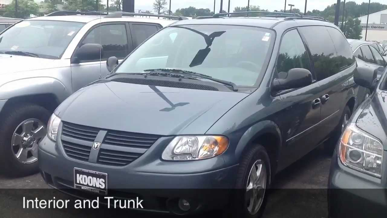 2006 dodge grand caravan sxt review youtube. Cars Review. Best American Auto & Cars Review