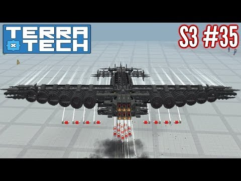 Terratech | Ep35 S3 | Heavy Hawkeye Bomber (...Again?!) | Terratech v0.8.1 Gameplay