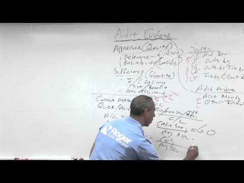 Audit Evidence: Analytical Procedures - Lesson 3