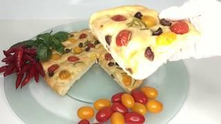 طريقة عمل البيتزا الإيطالية (وميني بيتزا مقدمه من مطبخ روزانا )