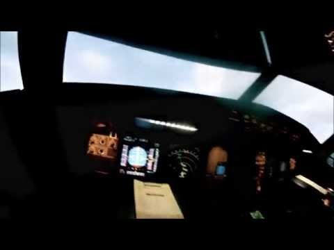 Airbus A320 Flight Control Laws Demonstration, crosswind landings