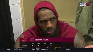 LeBron James on his history with Lance Stephenson after the Cavs' loss in Indiana