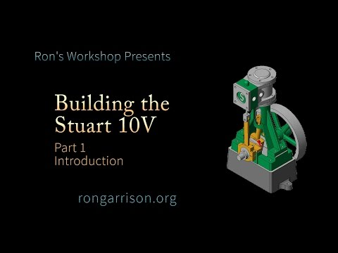 Building the Stuart Models 10V Vertical Steam Engine – Part 1