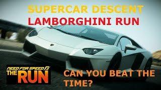 NFS Run Lamborghini Descent