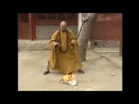 5 Steps of fire starting!! Chi master and Energy harness technique!