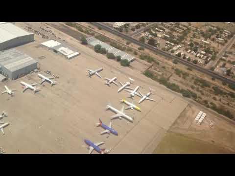 Bumpy 737-800 takeoff, Tucson International Airport