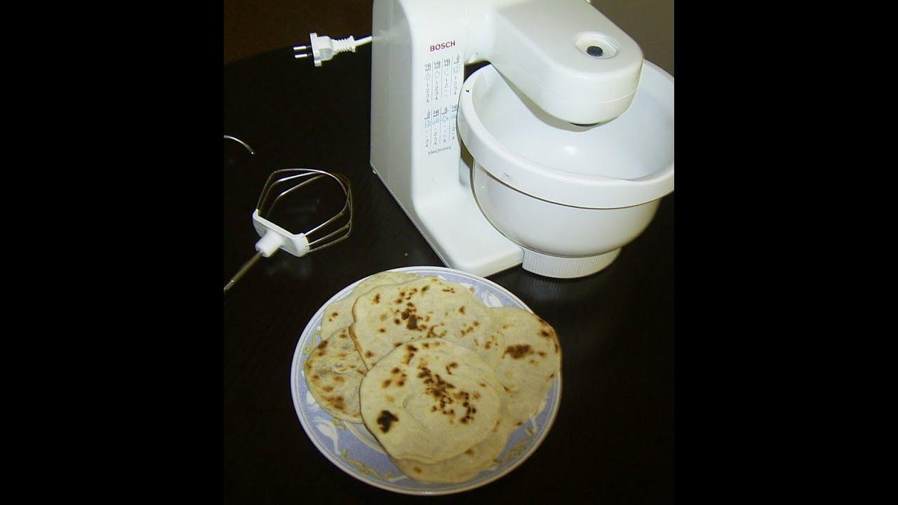 Food Processor Bosch Mum 4400 04 We Make Pita Bread Flatbread