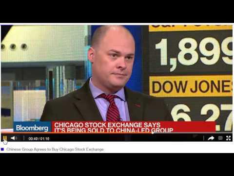 China Buying the Chicago Stock Exchange